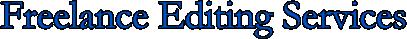 marlo berliner freelance editing services